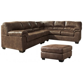 Bladen - 3-Piece Sectional and Ottoman