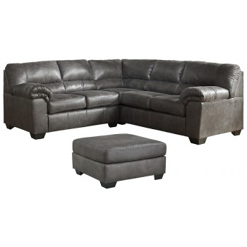 Bladen - 2-Piece Sectional with Ottoman
