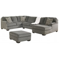 Loric - 3-Piece Sectional with Ottoman
