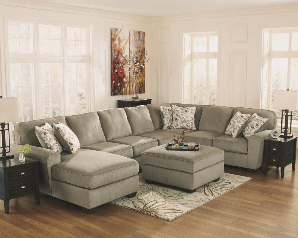 Patola Park 4 Piece Sectional With Ottoman 12900 11 S12 Living Room Furniture In Columbus