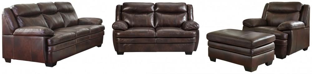 Hannalore - 3-Piece Upholstery Set with Ottoman