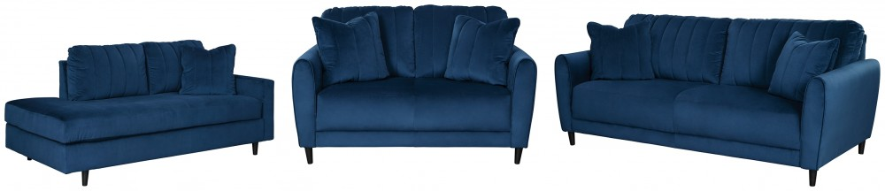 Enderlin - Sofa, Loveseat and Chaise