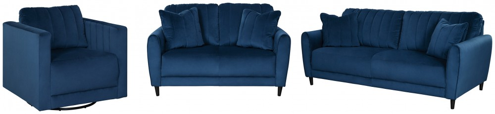 Enderlin - Sofa, Loveseat and Chair