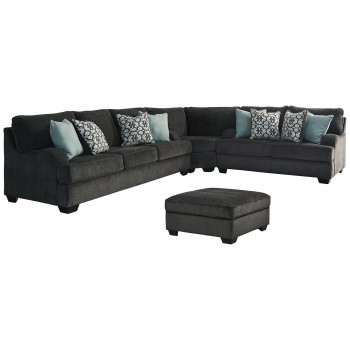 Charenton - 3-Piece Sectional with Ottoman