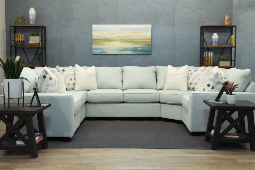 Astounding Autumn 6 Piece Sectional Azora Spa Evergreenethics Interior Chair Design Evergreenethicsorg