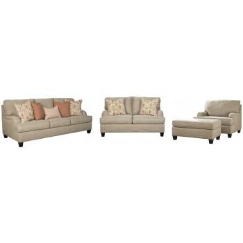 Almanza - Sofa, Loveseat, Chair and Ottoman