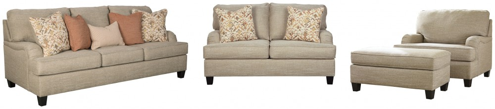 Almanza - 4-Piece Upholstery Package