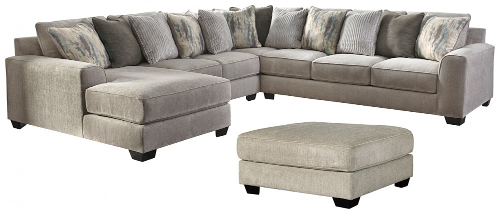 Ardsley - 4-Piece Sectional with Ottoman