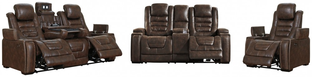 Game Zone - Sofa, Loveseat and Recliner