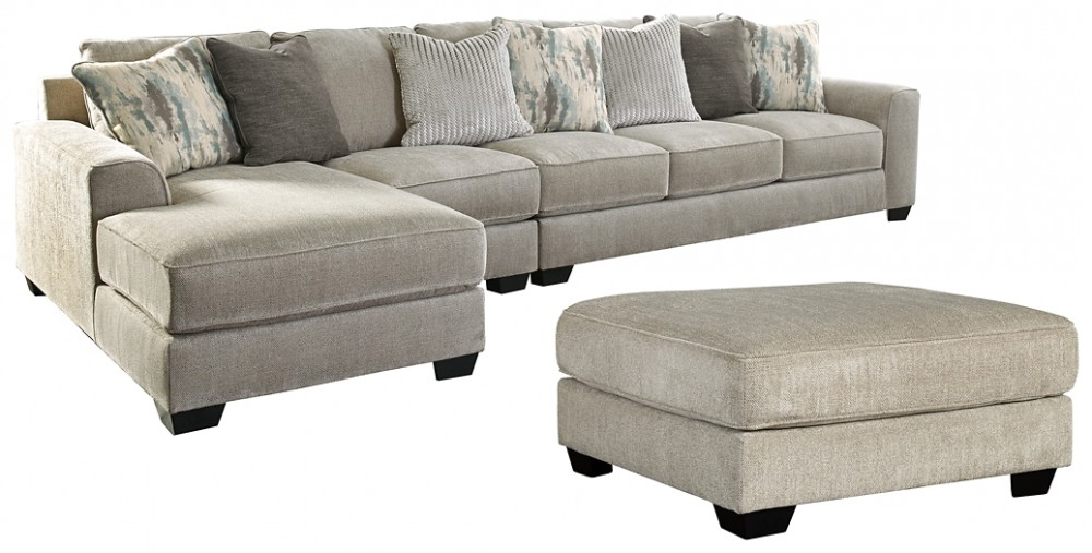 Ardsley - 3-Piece Sectional with Ottoman