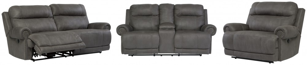 Austere - Sofa, Loveseat and Recliner