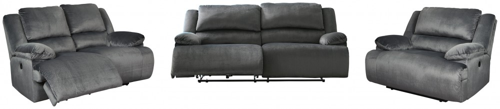 Clonmel - Sofa, Loveseat and Recliner