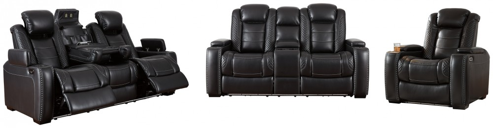 Party Time - Sofa, Loveseat and Recliner