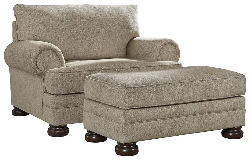 Kananwood - Chair and Ottoman