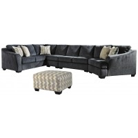 Eltmann - 4-Piece Sectional with Ottoman