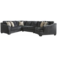 Eltmann - 3-Piece Sectional with Ottoman