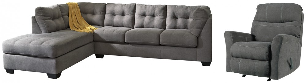 Maier - 2-Piece Sectional with Recliner