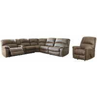 Segburg - 2-Piece Sectional with Recliner