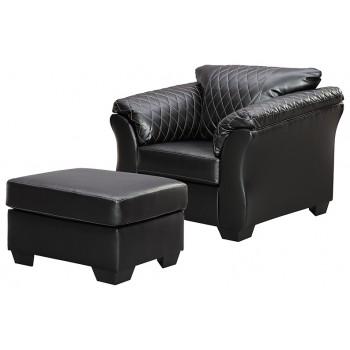 Betrillo - Chair and Ottoman