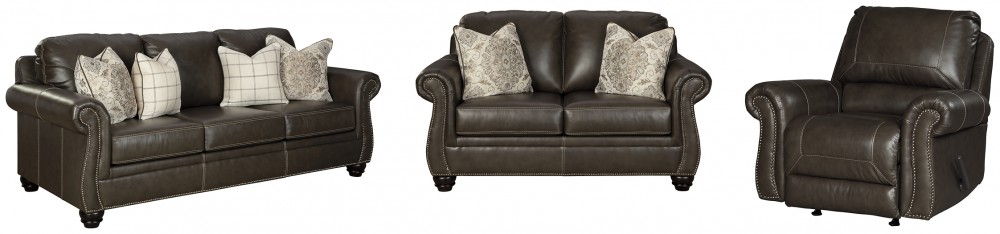 Lawthorn - Sofa, Loveseat and Recliner