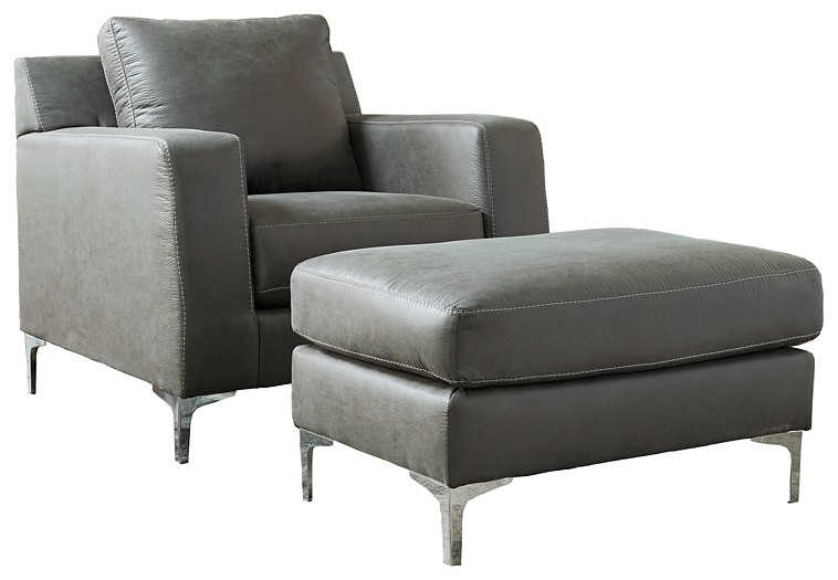 Ryler - Chair and Ottoman