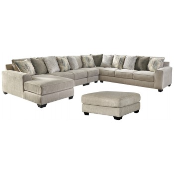 Ardsley - 5-Piece Sectional with Ottoman