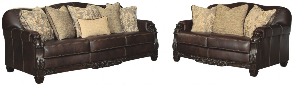 Embrook - Sofa and Loveseat
