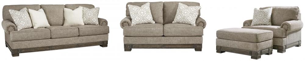 Einsgrove - Sofa, Loveseat, Chair and Ottoman