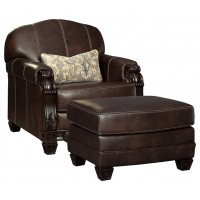 Embrook - Chair and Ottoman