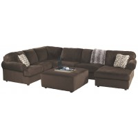 Jessa Place - 3-Piece Sectional with Ottoman