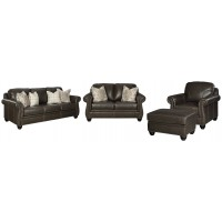 Lawthorn - Sofa, Loveseat, Chair and Ottoman