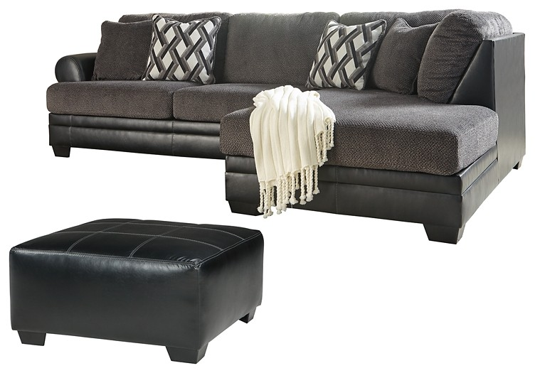 Kumasi - 2-Piece Sectional with Ottoman