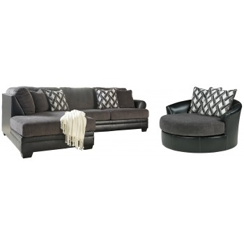 Kumasi - 2-Piece Sectional with Chair