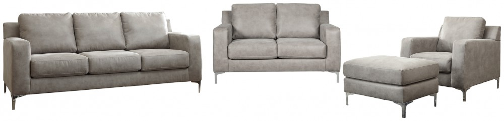 Ryler - Sofa, Loveseat, Chair and Ottoman