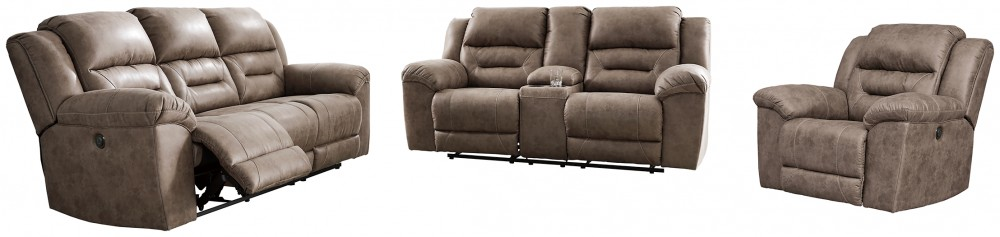 Stoneland - Sofa, Loveseat and Recliner