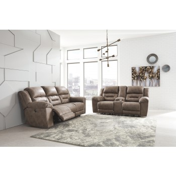 Stoneland Sofa And Loveseat 39905 87 96 Reclining