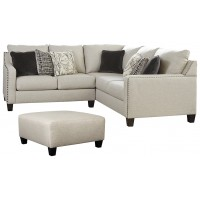 Hallenberg - 2-Piece Sectional with Ottoman