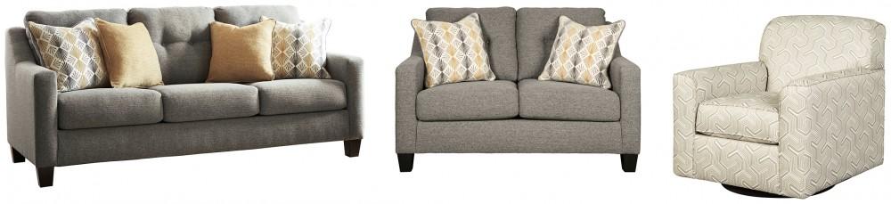 Daylon - Sofa, Loveseat and Chair