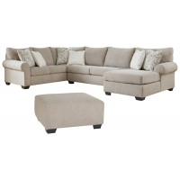 Baranello - 3-Piece Sectional with Ottoman