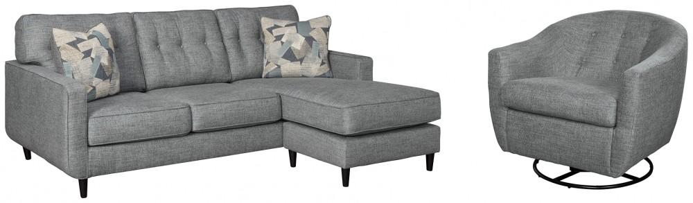 Mandon - Sofa Chaise and Chair