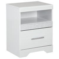 Jallory - One Drawer Night Stand