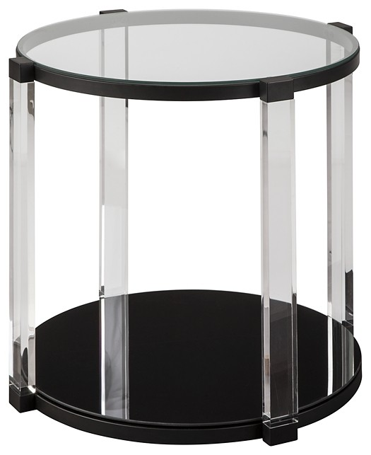 Delsiny - Round End Table