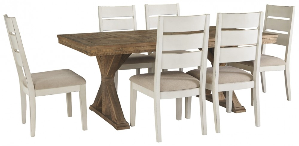 Grindleburg - 7-Piece Dining Room Package