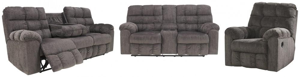 Acieona - Sofa, Loveseat and Recliner