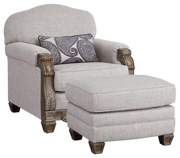 Sylewood - Chair and Ottoman