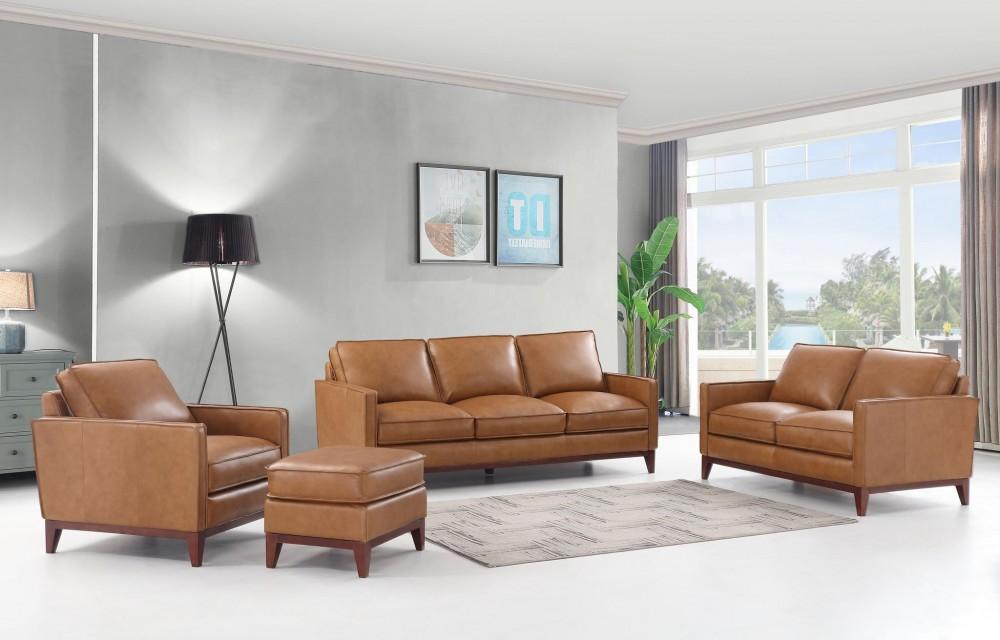 Newport Camel 4-Piece Livingroom