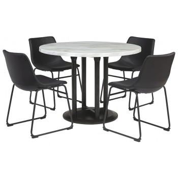 Centiar - Dining Table and 4 Chairs