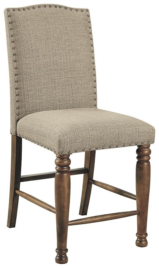 Lettner - Upholstered Barstool (2/CN)