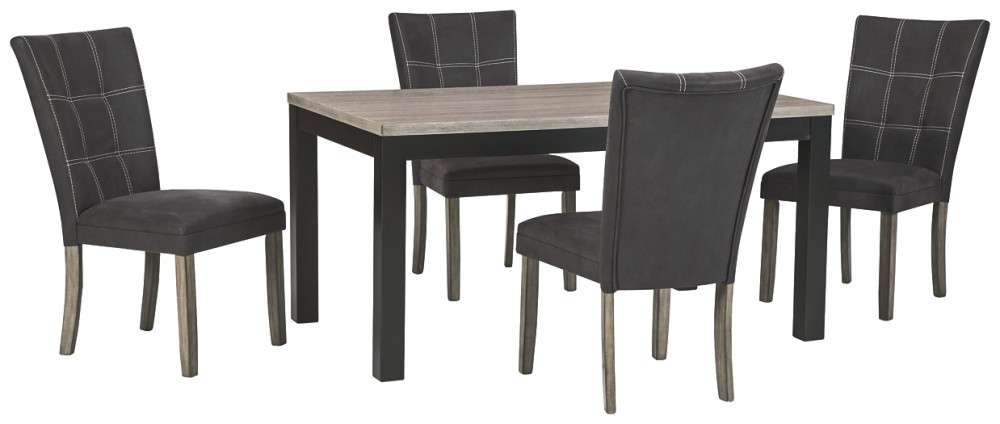 Dontally - Dining Table and 4 Chairs