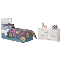 Lulu - Twin Bed with Dresser